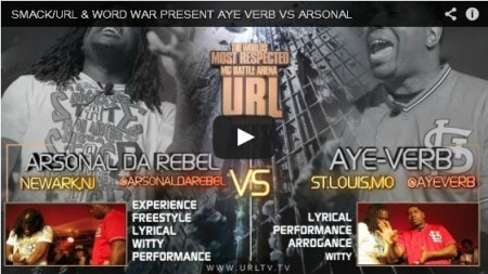 Ayeverb vs. Arsonal